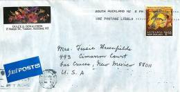 $1.50 Aotearoa Matakauri Slays The Giant Of Wakatipu  Single On Air Letter To USA - Covers & Documents