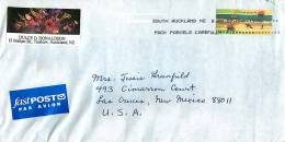 $1.50  Summer Single On Air Letter To USA - Covers & Documents