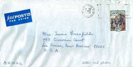 $1.50 The 1930' Free Milk For Schools   Single On Air Letter To USA - Covers & Documents