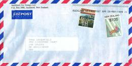 $1.05 Mountain Climbing, 45 C Bridge  On Air Letter To USA - Covers & Documents