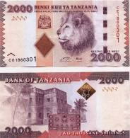 "TANZANIA  2.000  SHILLING  2.010  2010  SC/UNC/PLANCHA    ""LEON""     DL-9839 - Tanzania"