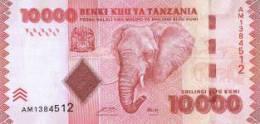 """TANZANIA  10.000  SHILLING  2.010  2010  SC/UNC/PLANCHA    """"ELEFANTE""""     DL-9841 - Tanzania"""