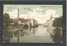 CPA 08/12/1906     Kolozsvar   Samos  Részlet - Romania
