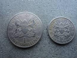 REPUBBLICA DEL KENIA  -  LOTTO  MONETE  ANNI  DIVERSI  1968  E  1971  - - Kenya