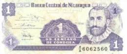 Billete Nicaragua. 1 Ct. - Nicaragua