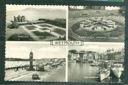 Weymouth – 4-scene Postcard - Tz149 - Weymouth