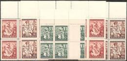 Slovacchia 1939 Nuovo** - Yv.47Q +51/52Q  X2Q =6Q - Slovacchia