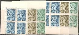 Slovacchia 1942 Nuovo** - Yv.74/76  Q+2 - Nuovi