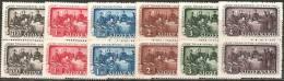 Slovacchia 1942 Nuovo** - Yv.77/82 Cp - Slovacchia