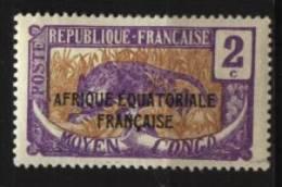 Congo N°  73   Neuf *  Cote Y&T    0,30  €uro  Au Quart De Cote