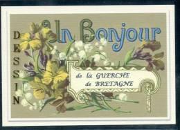 35  LA  GUERCHE  De  BRETAGNE  .....  Souvenir Au Fusain Creation Moderne Série Limitée Et Numerotée 1 à 10 ... N° 2/10 - La Guerche-de-Bretagne