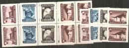 Slovacchia 1943 Nuovo** - Yv.90/93 Q+2 - Nuovi