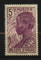 Cote D´Ivoire N°  112   Neuf ** Luxe  Cote Y&T   0,50  €uro  Au Quart De Cote