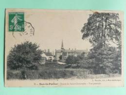 DUN LE POELIER - Route De ST CHRISTOPHE, Vue Générale - Francia