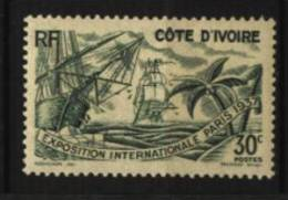 Cote D´Ivoire N°  134   Neuf ** Luxe  Cote Y&T   3,50  €uro  Au Quart De Cote