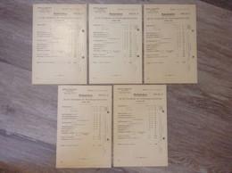 Karten Rabattsätze Achsen-Werke Warstein Sauerland Gabriel Bergenthal 1908 April 1910 - Collections
