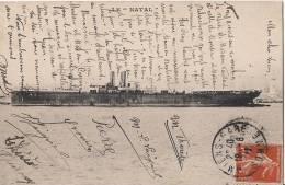 MESSAGERIES MARITIMES BATEAU LE NATAL - Dampfer