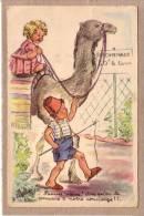 """ILLUSTRATEUR J. LAGARDE - DROMADAIRE - ENFANT - 656 / 4 - """" Pauvre Vieux ! Dire Que L'on Te Compare .....- édit. JG - Illustrateurs & Photographes"""