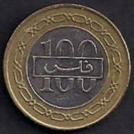 Kingdom Of Bahrain, Coin 100 F. Issue 2006, Fin, - Bahrein