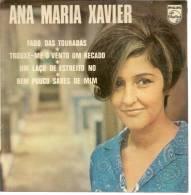 """TITRE : 45 Tours EP - ANA MARIA XAVIER - PHILIPS 432914 - """" FADO DAS TOURADAS """" + 3 - Other - French Music"""