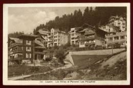 Cpa De Suisse Vaud  Les Villas Et Pension Les Fougères    DIV10 - VD Vaud