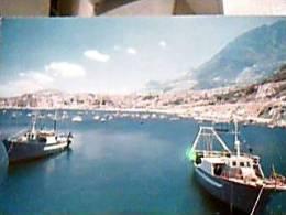 CASTELLAMMARE DEL GOLFO BARCHE DA PESCA V1995  DY5721 - Trapani