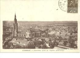 59 Nord CPA Cambrai Panorama Eglise Saint Géry - Cambrai