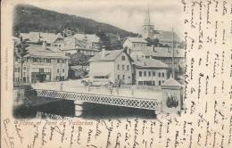 Place Et Pont De Vallorbes En 1899 - VD Vaud