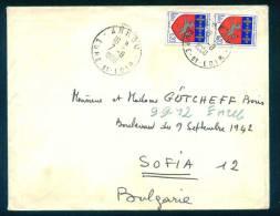 52780 Cover Lettre Brief  1968  BLASON DE SAINT LO . HELIOGRAVURE France Frankreich Francia - Lettres & Documents