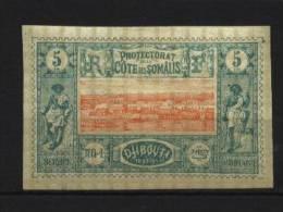 Cote Des Somalis   N° 9 Neuf *  Cote Y&T  20,00  €uro  Au Quart De Cote - Non Classés