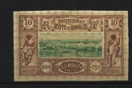 Cote Des Somalis   N° 10 Neuf *  Cote Y&T  25,00  €uro  Au Quart De Cote - Non Classés