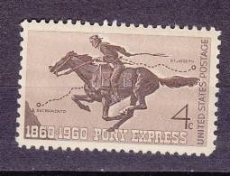 Etats-Unis. Cheval. Centanaire Du Pony Express  ** - Horses