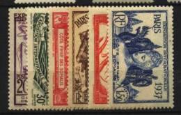 Cote Des Somalis   N° 141 à 146   Neuf *  Cote Y&T  16,00  €uro  Au Quart De Cote - Non Classés