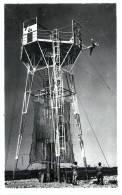 RARE CARTE PHOTO : SAUT A L´ELASTIQUE PARACHUTISME EXPERIENCE MILITAIRE - Parachutisme