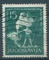 Yugoslavia Republic, 1953 Mi#733, Used - Gebruikt