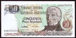 * ARGENTINA - 50 Pesos Argentinos Reposicion-Replacement - Argentine
