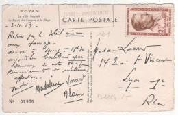 Timbre Yvert N° 1201 / CP  ,carte , Postcard - France