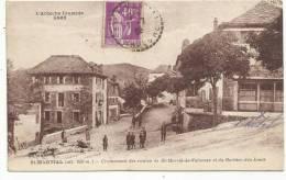 St-MARTIAL (Ardèche) Croisement Des Routes De St-Martin-de-Valamas Et Du Gerbier-des-Joncs - 1936 - France