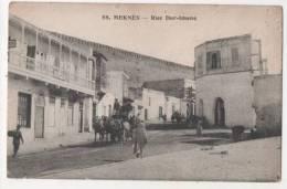 MAROC - MEKNES - Rue Dar-Imene - Meknes