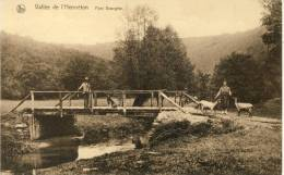 Hermeton S /Meuse - Vallée De L'Hermeton - Pont Georgine - Carte Animée ( Voir Verso )