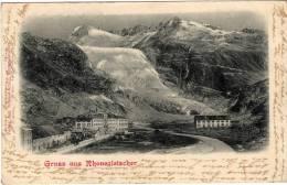 SUISSE - GRUSS AUS RHONEGLETSCHER - VS Valais