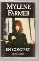 "K7 Audio - MYLENE FARMER  "" EN CONCERT ""  16 TITRES - Audiokassetten"