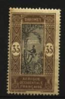 Dahomey  N° 52    Neuf ** Luxe   Cote Y&T  1,70  €uro  Au Quart De Cote