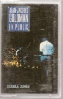 """K7 Audio - JEAN-JACQUES GOLDMAN """" EN PUBLIC """" 16 TITRES - Audiocassette"""