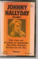 """K7 Audio - JOHNNY HALLYDAY """" NOIR C'EST NOIR """" 11 TITRES - Audio Tapes"""