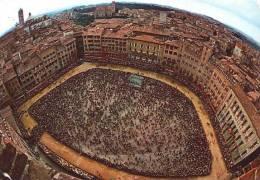 01161-Siena-Piazza del Palio prima del Palio