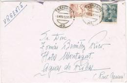 6013. Carta Urgente TARRAGONA 1952 A Balneario Montagut - 1931-Hoy: 2ª República - ... Juan Carlos I