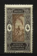 Dahomey  N° 45  Neuf * Luxe   Cote Y&T  0,30  €uro  Au Quart De Cote