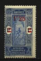 Dahomey   N° 80  Neuf * Luxe   Cote Y&T  1,50  €uro  Au Quart De Cote