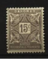Dahomey  Taxe   N° 11  Neuf * Luxe   Cote Y&T  0,60  €uro  Au Quart De Cote